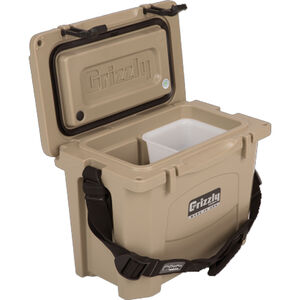 Grizzly Coolers Grizzly 15 16qt Capacity Polymer Tan