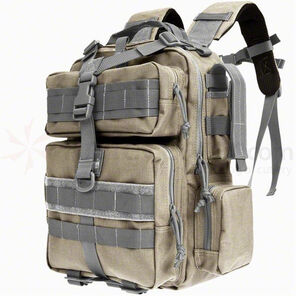 Maxpedition Typhoon Backpack  Khaki and Foliage  0529KF