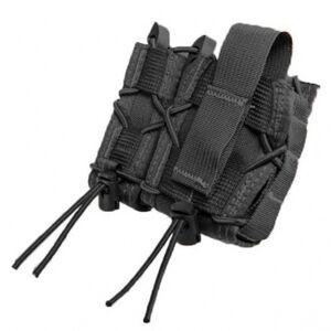 High Speed Gear LEO TACO Pistol Magazine and Handcuff Holder Belt Mount Cordura Black