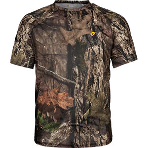 Scent Blocker Men's Fused Cotton S/S Top Short Sleeve T-Shirt X-Large Cotton/Polyester Realtree Edge Camo