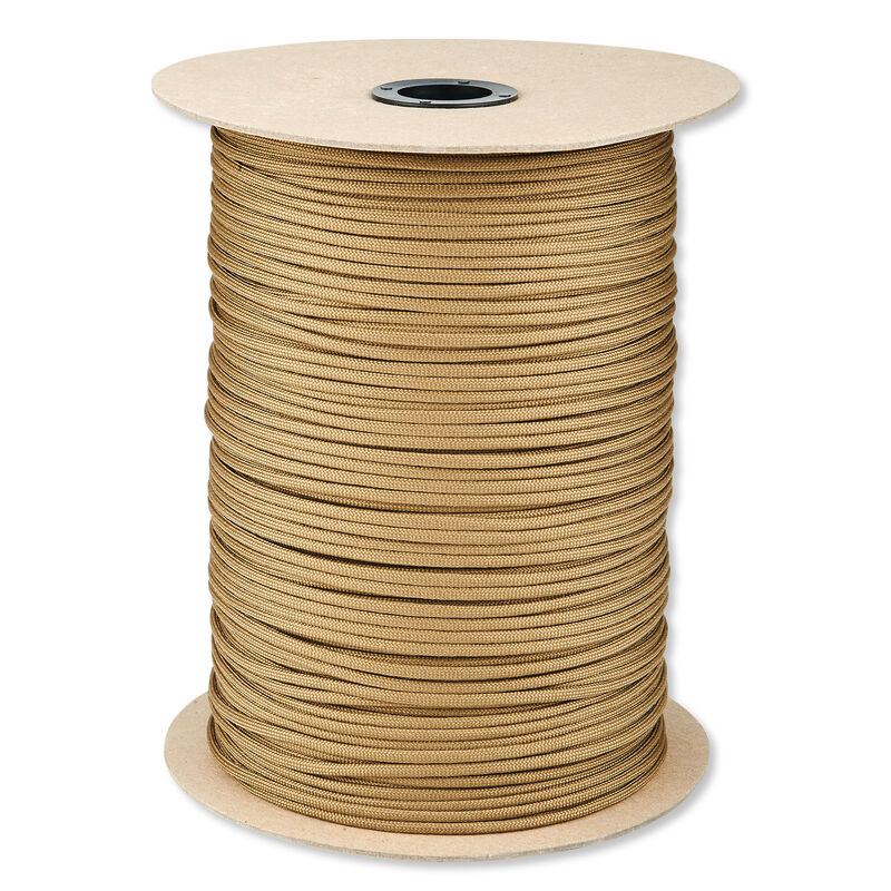 5IVE Star 550 Paracord Seven Strand 1000 Feet Spool Coyote