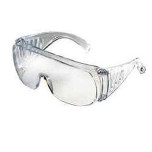 Radians Traditional Coveralls Glasses Polycarbonate Clear Lens Clear Frame CV0010