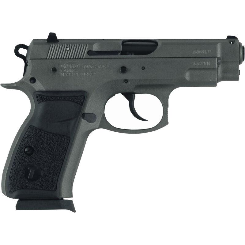 "TriStar C-100 .9mm Luger Semi Auto Pistol 3.7"" Barrel 15 Rounds Fixed Sights Aluminum Frame Tungsten Grey"