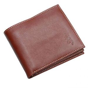 Browning Bi-Fold Wallet with ID Window Leather Brown BGT2010