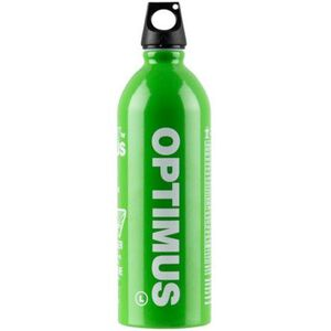 Optimus Fuel Bottle Screw Top 1 Liter Aluminum Green 8018995