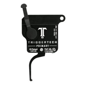 Trigger Tech Remington 700 Primary Drop In Replacement Trigger Right Hand/No Bolt Release/Flat Lever PVD Black Finish