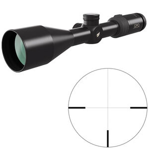 GPO Passion 4x 3-12x56 Riflescope German #4 Non-Illuminated Reticle 30mm Tube .36 inch Adjustments Fixed Parallax Second Focal Plane Black