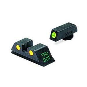 Meprolight Tru-Dot Fixed Night Sights GLOCK 20/21/29/30 Green/Orange Steel 10222O