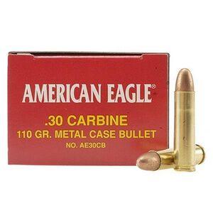American Eagle .30 Carbine Ammunition 110 Grain FMJ Bullet 50 Rounds