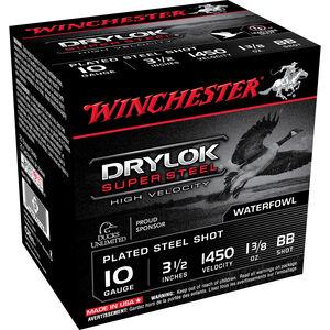"Winchester Drylok HV 10ga 3-1/2"" BB Steel 1-3/8oz 250 Rnds"