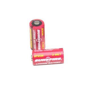 Surefire CR123A Lithium Batteries 2 Count SF2CB