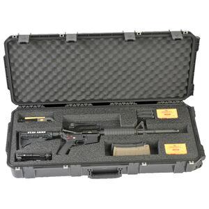 "SKB iSeries 3614 AR Rifle Case 36.50"" x 14.50"" x 6"" Custom Foam Interior Latch Closure Carry Handle Waterproof Hard Shell Polymer Matte Black 3i-3614-AR"