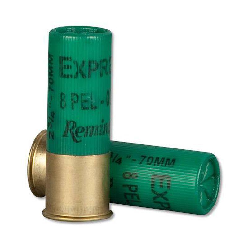 "Remington 12 Gauge 2.75"" 000 Buck 8 Pellets 5 Round Box"