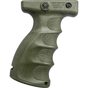 FAB-Defense Ergonomic Vertical Foregrip Polymer OD Green