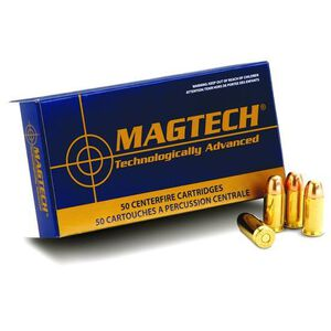 Magtech .32 S&W Long Ammunition 50 Rounds LWC 98 Grains 32SWLB