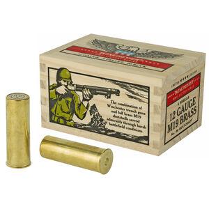 "Winchester Victory Series 12 Gauge Ammunition 25 Round Case 2-3/4"" 00 Buckshot 9 Pellets  Full Brass Casing 1100fps"