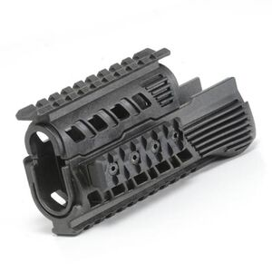 Command Arms Accessories RS47 AK-47 Hand Guard Set Picatinny Rail Sections High Density Heat Resistant Polymer Matte Black Finish