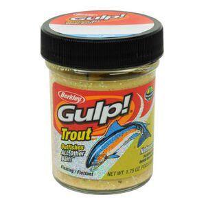 Berkley Gulp! Trout Dough Bait Garlic 1.75 Ounces Chunky Cheese 1203181