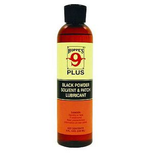 Hoppes No. 9 Plus Black Powder Solvent and Patch Lubricant 8 oz Squirt Bottle
