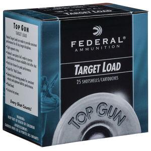 """Federal Top Gun Target Load 20 Gauge Ammunition 2-3/4"""" Shell #8 Lead Shot 7/8 oz 1210 fps"""