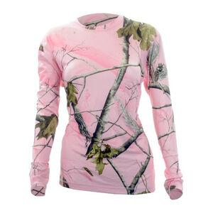 Medalist Women's Huntgear Long Sleeve Insulating Shirt Polyester/Spandex Medium Pink Camo M5805RTPCM