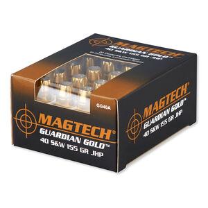 Magtech Guardian Gold .40 S&W Ammunition 20 Rounds JHP 155 Grains GG40A