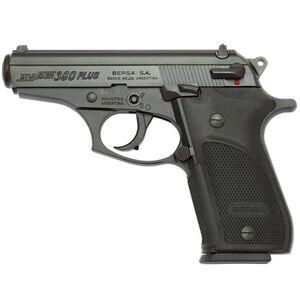 "Bersa Thunder Plus Semi Automatic Pistol .380 ACP 3.5"" Barrel 15 Rounds Polymer Grip Matte Black Finish THUN380PM15"