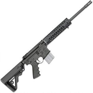 "Rock River LAR-15 Coyote Carbine 5.56 NATO AR15 Semi Auto Rifle 16"" HBAR Barrel 20 Rounds Free Float Handguard Collapsible Stock Black"