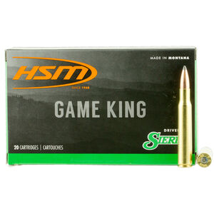 HSM GameKing .30-40 Krag Ammunition 20 Rounds 180 Grain Spitzer Boat Tail GameKing