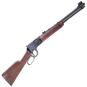 """Henry Repeating Arms Model H001 Lever Action Rimfire Rifle .22 Long Rifle 18.25"""" Barrel 15 Rounds Walnut Stock Blued Finish"""