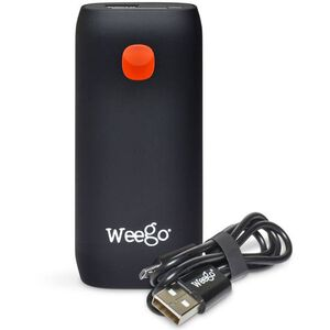"Weego Rechargeable Battery Pack 5200 mAh 5V/2A 12"" Micro USB Cord Black"