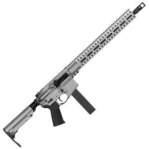 "CMMG Resolute 300 Mk9 Series 9mm Luger AR15 Style Semi Auto Rifle 16"" Barrel 32 Rounds CMMG RML15 M-LOK Hand Guard Cerakote Titanium"