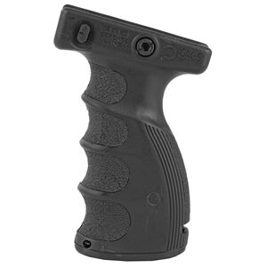 FAB Defense Ergonomic Vertical Foregrip Picatinny Rail Mount Polymer Black
