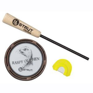 The Raspy Old Hen glass turkey call