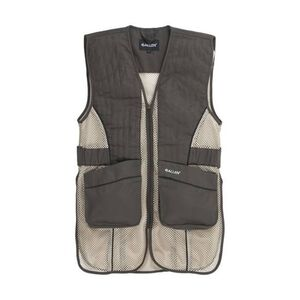 Allen Ace Shooting Vest Left or Right Hand Shooters Size Medium/Large Brown/Tan