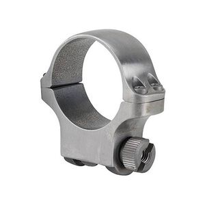 Ruger 30mm Scope Ring High Matte Stainless Steel 90319