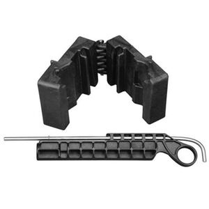 Wheeler Engineering Delta Series AR-15 Upper Receiver Vise Block Polymer Black 156444
