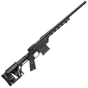 "Weatherby Vanguard Modular Chassis Bolt Action Rifle .223 Remington 20"" Barrel 10 Rounds LUTH-AR MBA-1 Stock Matte Black"
