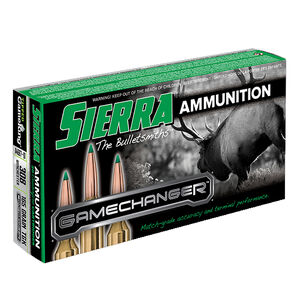 Sierra GameChanger .308 Winchester Ammunition 20 Rounds 165 Grain Tipped GameKing