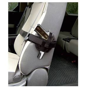 Personal Security Products Car Seat Holster Nylon Medium / Large Black 035SH