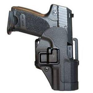 BLACKHAWK! SERPA CQC Concealment Belt/Paddle Holster Full Size HK USP 9/40 Left Hand Polymer Matte Black