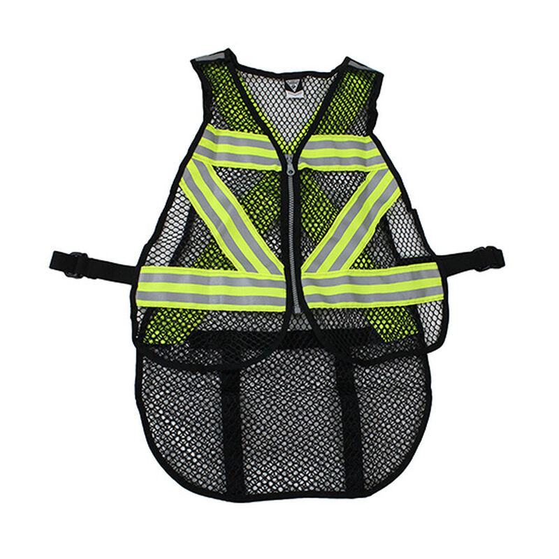 Seattle Sports Cycling Safety Vest Green/White