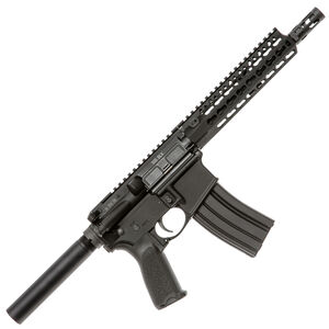 "Bravo Company USA RECCE-9 KMR-A AR-15 Semi Auto Pistol .300 AAC Blackout 9"" Enhanced Profile Fluted Barrel 30 Rounds BCM KMR-A8 Free Float Key-Mod Handguard QD End Plate Anodized Black Finish BCM-PISTOL-503-890"