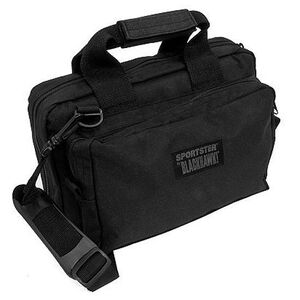 "BLACKHAWK! Sportster Gun Range Bag, 13"" x 9""x 4.5"", Black"