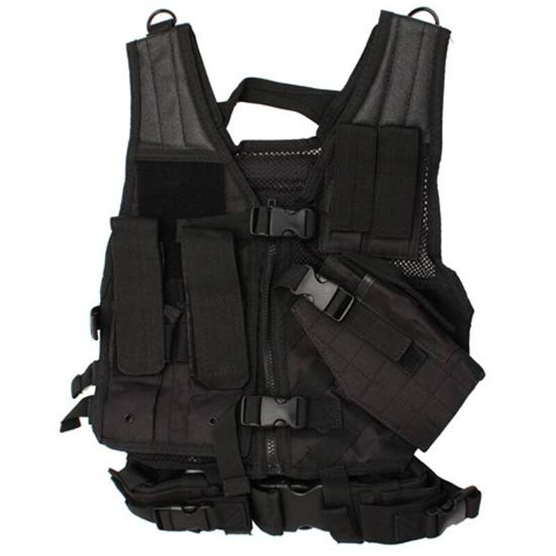 NcSTAR Tactical Vest Size XS to Small PVC Black