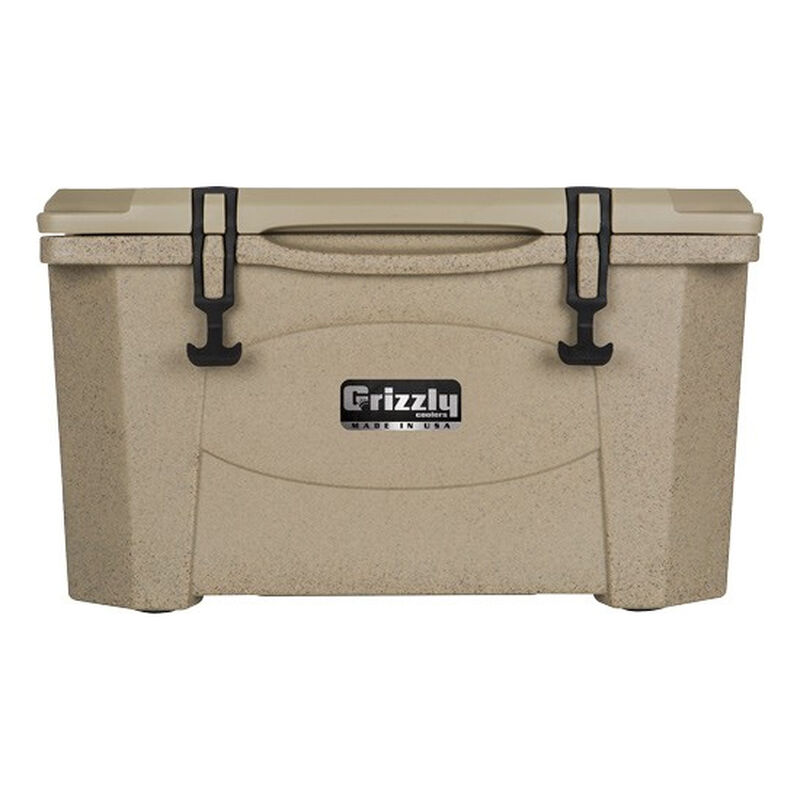 Grizzly Coolers Grizzly 40 Rotomolded 40 Quart Cooler Sandstone/Tan