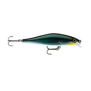 "Rapala Shadow Rap Shad Lure 3 1/2"" Length 2 Number 6 Treble Hooks Carbon"