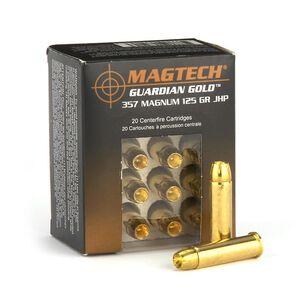 Magtech Guardian Gold .357 Magnum Ammunition 20 Rounds JHP 125 Grains GG357A