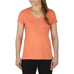 5.11 Tactical Women's Zig Zag V-Neck T-Shirt Size Medium Jersey Knit Skyway 61306