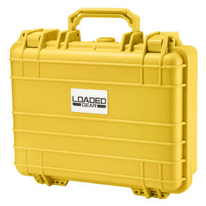 Barska Optics HD-200 Hard Case with Foam Yellow